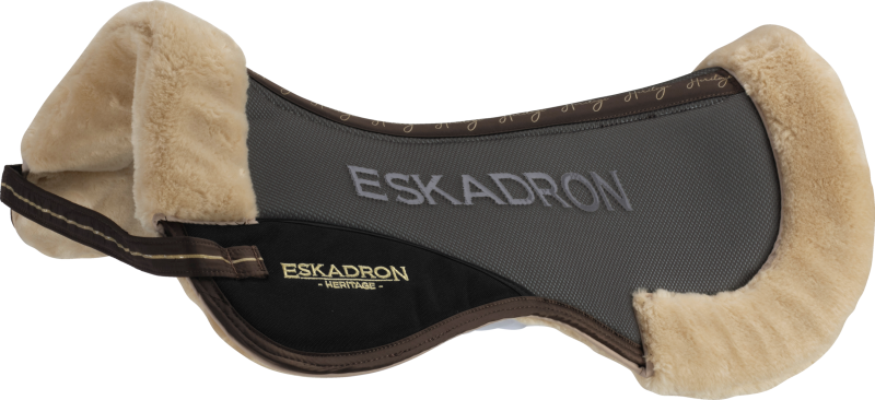 ESKADRON Saddle Pad Mesh Faux Fur